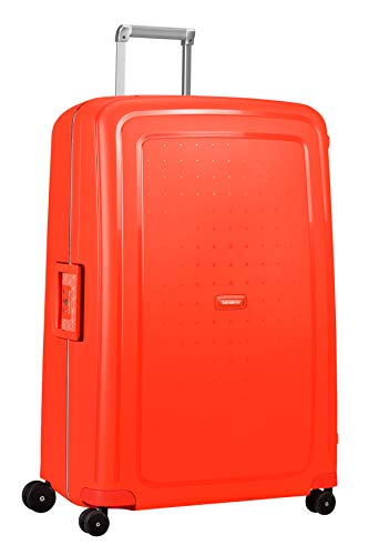 Samsonite S'Cure Valigia.138 Litri, XL (81 cm - 138 Litri), Rosso (Fluo Red Capri)