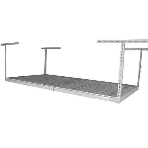 SafeRacks - 4x8 Overhead Garage Storage Rack Heavy Duty -...
