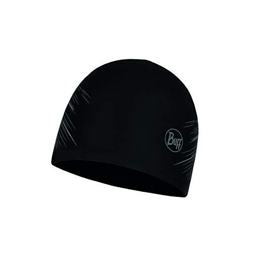 Buff Men's R-Solid Microfiber Reversible Hat, Black, One Size