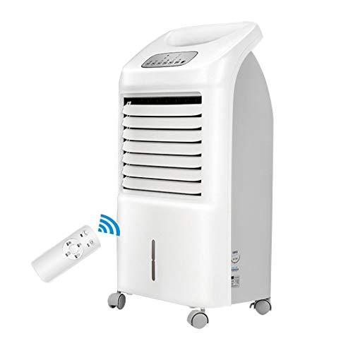 Ménage Climatiseur Mobile Sans Evacuation,avec Télécommande Climatisation Portable,3 Réglages De Vitesse 7 Heures Minuterie Couleur Blanche