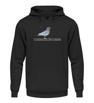 Chorchester Pull à capuche unisexe idéal pour les volailles de pigeons - Noir - XL