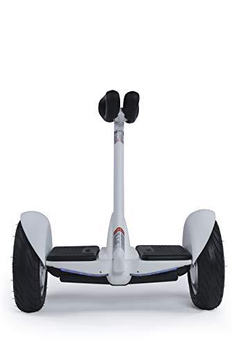Segway Ninebot S N3M240 - Patinete eléctrico motorizado (hasta 16km/h y 22km de autonomía) con Auto-Equilibrio y faros ultrabrillantes, Blanco, 260x548x595 mm