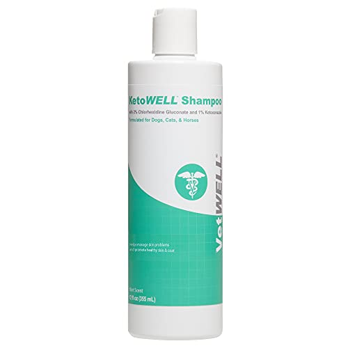 VetWELL Ketoconazole Chlorhexidine Shampoo for...