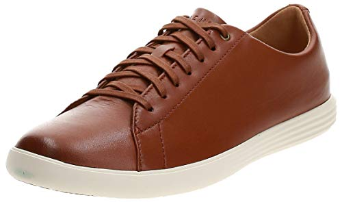 Cole Haan Men's Grand Crosscourt II Sneakers, Tan Leather Burnsh,...
