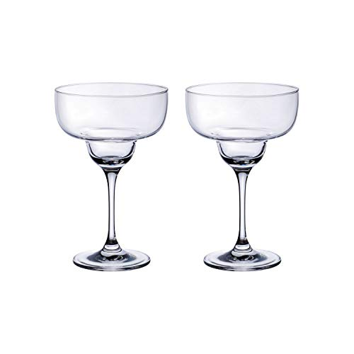 Villeroy & Boch Purismo Bicchieri da Margarita, Set da 2, 340 milliliters, Cristallo, Trasparente