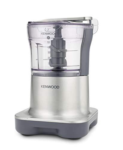 Kenwood CH 250 Quadblade Zerkleinerer vier Messersystem (500 W, 0,5 l) silber