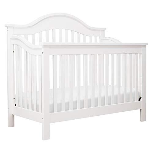 DaVinci Jayden 4-in-1 Convertible Crib in White,...