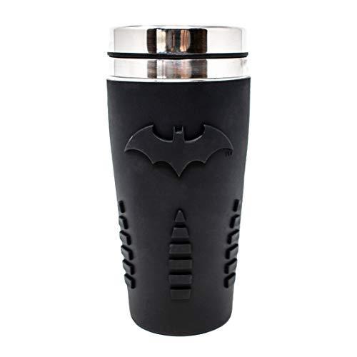 Paladone PP4380BM Batman Mug de voyage | Tasse réutilisable pour café et...