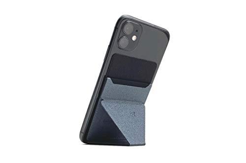 MOFT X 最薄クラススマートフォンスタンド ホルダー スキミング防止カードケース (スペース・グレー)