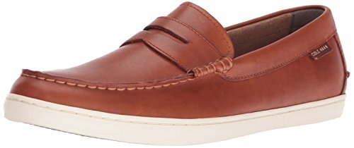 Cole Haan Men's Pinch Weekender Penny Loafer, British Tan, 9 M US