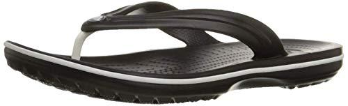 Crocs Crocband Flip 11033, Infradito Unisex Adulto, Nero (Black 001), 43-44 (Talla produttore:...