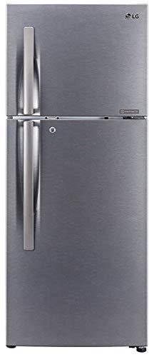 LG 260 L 2 Star Smart Inverter Frost-Free Double Door Refrigerator (GL-S292RDSY, Dazzle Steel,...