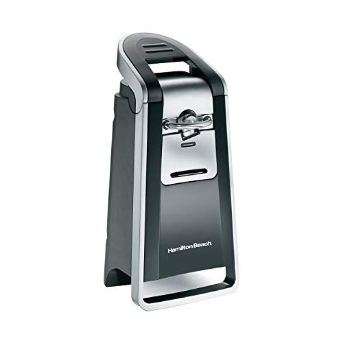 Hamilton Beach 76607 Smooth Touch Can Opener, Black and Chrome