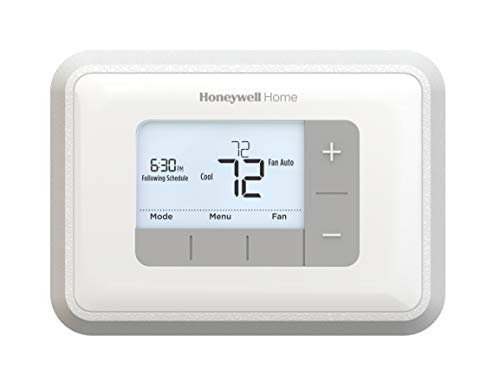 Honeywell Home RTH6360D1002 Programmable Thermostat, 5-2 Schedule, 1-Pack, White