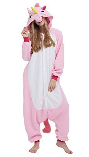 Pijama Unicornio Kigurumi Onesie Adultos Mujer Cosplay Animal Disfraces S
