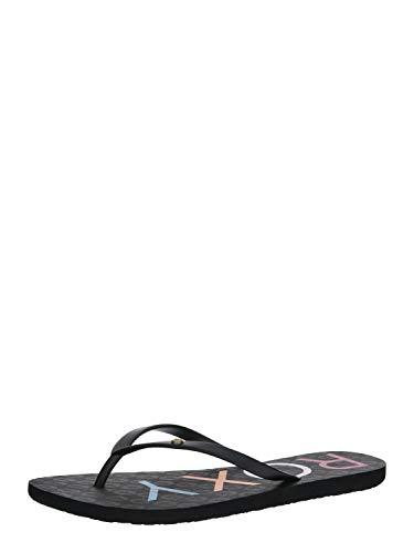 Roxy Sandy, Zapatos de Playa y Piscina para Mujer, Negro (Black Multi Bk5), 39 EU