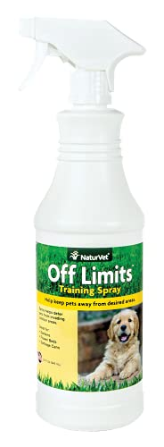 NaturVet Off Limits Pet Training Spray for Dogs &...