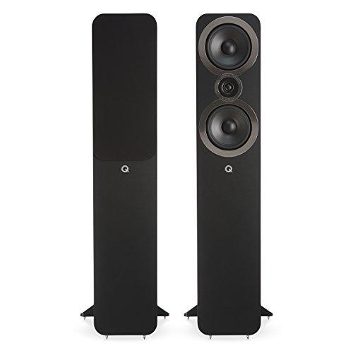 Q Acoustics 3050i Standlautsprecher QA3556 in Schwarz/Paar