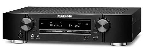 Marantz NR1710 7.2-Kanal AV-Receiver, Hifi Verstärker (HEOS Multiroom, Musikstreaming, AirPlay 2, Bluetooth, Wi-Fi, WLAN, Dolby Atmos, 8 HDMI Eingänge, Alexa Kompatibel)