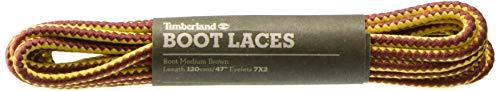Timberland Boot Lace 47-Inch, Cordones de Zapatos Unisex Adulto, Marrón (Medium Brown), Talla única