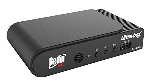 Receptor e Conversor Digital, Bedin Sat, Ultrabox 0050209008, Preto