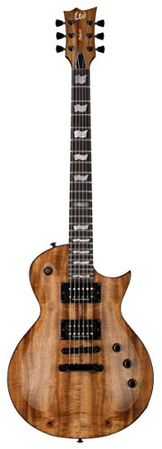 ESP LTD EC-1000 Koa Electric Guitar, Natural Gloss