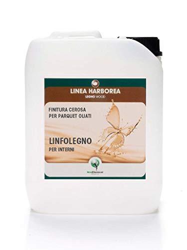 LINFOLEGNO New Chemical |Finitura cerosa parquet oliati | 5LT