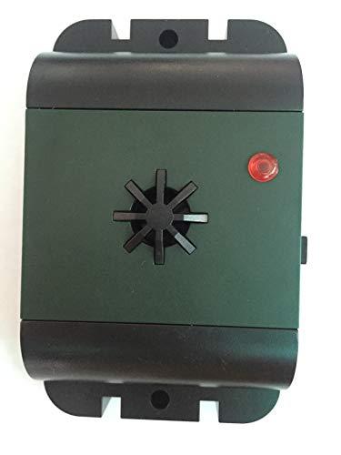 ISOTRONIC Vogelabwehr Ultraschall batteriebetrieben mobil einsetzbar Vogelvertreiber Vogelschreck Taubenabwehr Taubenschutz Taubenschreck gegen Tauben Vögel Möwen auf Balkon Dachrinne Fenster (1)