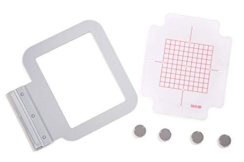 Metal/Magnetic Hoop for Brother/Babylock Embroidery Machine 4'x4' (SA438) INNOV-is: 1500D, 2200D, 2500D, 2800D 4000D 5000D DREAMMAKER VE2200 VM6200D DUETTA 4500D 4700D Quattro 6000D 6700D