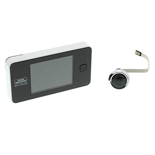 BURG-WÄCHTER, Digitaler Türspion, Door eGuard DG 8100, Farbdisplay, Für Türstärken von 38-110 mm