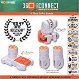 Pro Standard 4 Piece 360 Quick Connect GoPro Bundle