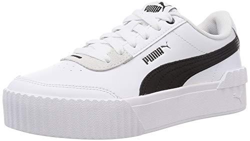 PUMA Carina Lift, Zapatillas Mujer, Blanco White Black, 36 EU