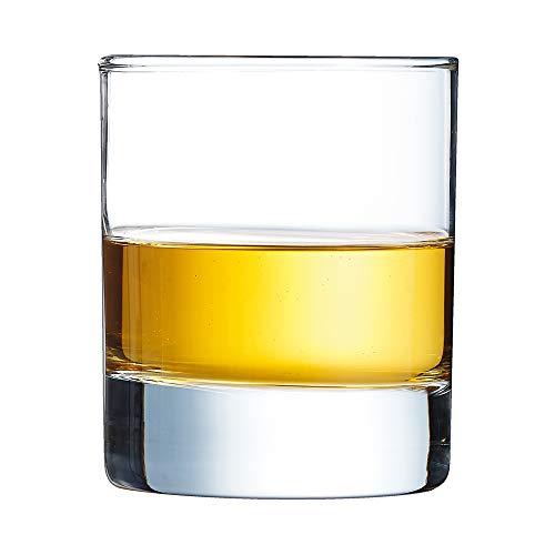 Arcoroc Islande whiskyglas 200ml   Zonder vullijn   6 stuks