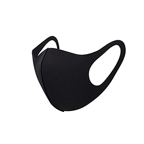 Mouth Masks Breathable Face Masks,Anti Dust Anti-particle Mouth Masks anti-pollution Masks, Reusable Cotton Mouth Mask Earloop for Cycling/Travel/Personal Health Protection( 4pcs