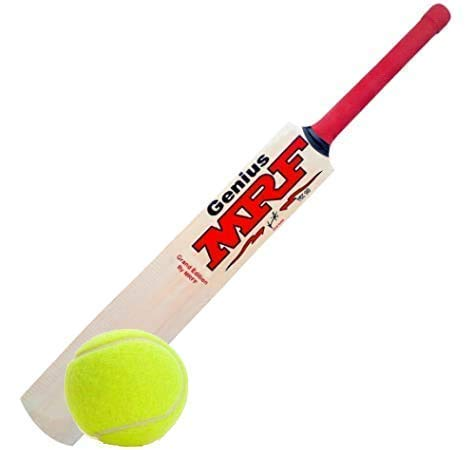 Pmg Virat Kohli Poplar Willow Cricket Bat Size 5 for Tennis Ball 8+ Years Boys and Girls