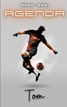 Agenda 2020 2021 Tom: Agenda Scolaire Foot Personnalisable ⚽ Cadeau pour TOM ⚽ Prénom Agenda personnalisé   Journalier   Football   Garçon Ado   Collège Primaire Lycée Étudiant