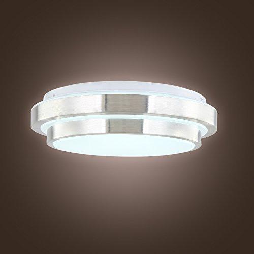 LightInTheBox Lámpara de techo moderna y creativa con luz LED galvanizada, para comedor, recámara, sala de estar, con foco incluida, luz blanca cálida, montaje en techo