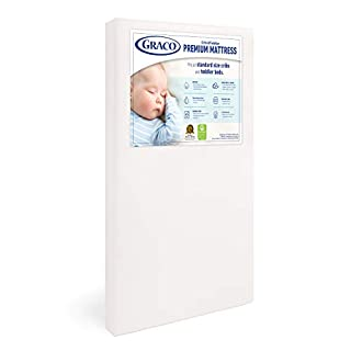 MATTRESS IN A BOX: This crib and toddler mattress ships compressed in a lightweight box for ultimate convenience; For optimal performance, unroll your mattress within 2 weeks of purchase to allow for proper expansion in a room temperature setting. Th...