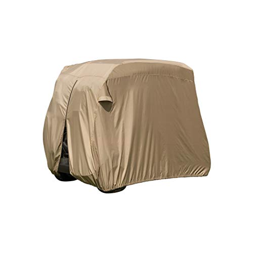 Classic Accessories Fairway Golf Cart Easy-On Cover, Tan,...