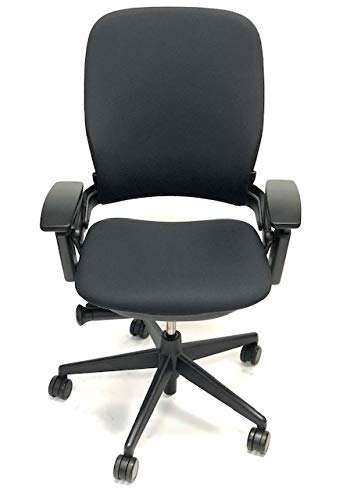 Steelcase Leap Black Fabric V2 Office Chair...