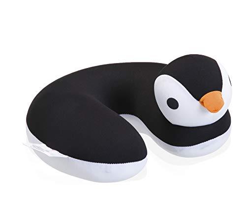 Almofada Pescoço Pinguim Etna Branco/preto