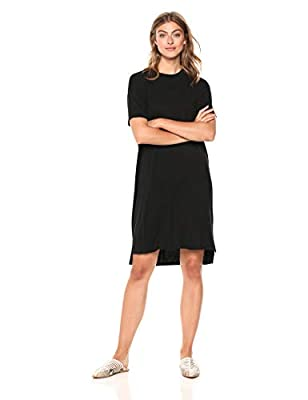 Made in Vietnam This essential T-shirt dress features a high crewneck and a relaxed cut for an effortless look that's ready to style Luxe Jersey - Perfectly rich, smooth fabric that beautifully drapes Start every outfit with Daily Ritual's range of e...