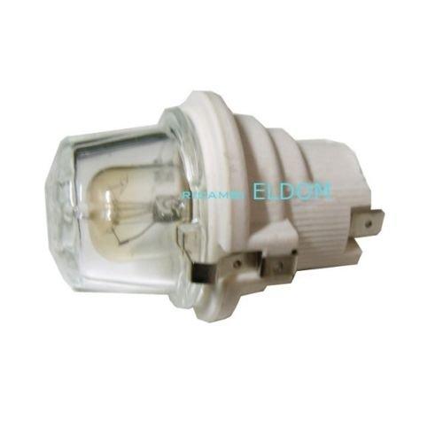 KIT PORTALAMPADA FORNO CON LAMPADA REX ELECTROLUX ZANUSSI, NARDI 50247808004
