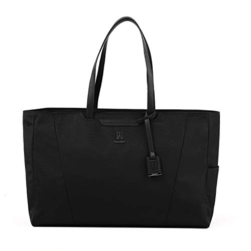 Travelpro Women's Maxlite 5-Laptop Carry-On Travel Tote Bag Luggage, Black, One Size