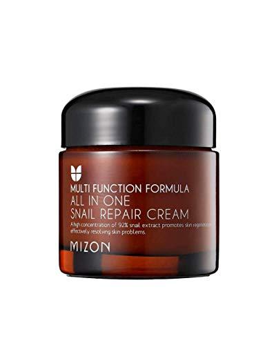 Mizon - Crema facial reparadora de caracol 92% All in one Snail Repair 75 g