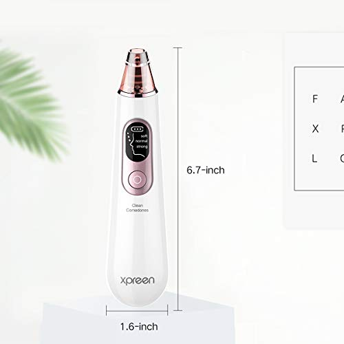 Beauty tools | Blackhead Remover Pore Vacuum, Xpreen Pore Cleaner Facial Comedone Removal Extractor Kit and Skin Care Tool for Electric Pore Suction Face Cleanser, Beauty Device with LED Screen for Women Men Nose, Gym exercise ab workouts - shap2.com