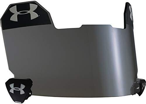Under Armour 10 Percent Grey Football Visor (Darkest Eye Shield) Available Only from Sports Depot