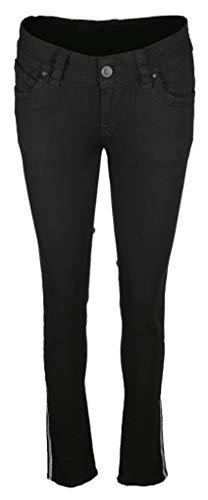 Blue Monkey Damen Jeans Laura Größe 3132 Schwarz (schwarz)