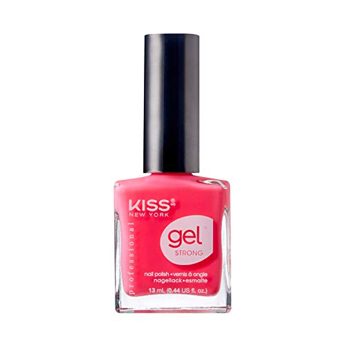 KISS NEW YORK Gel Strong Nail Polish .44oz - KNP007 Pretty Woman