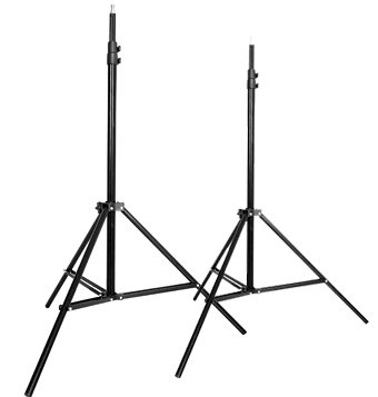CowboyStudio Set of Two 7 feet Photography Light Stands with...